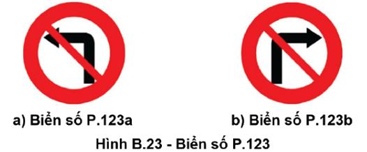 Theo quy định cũ, nếu thấy hai biển báo này các loại xe cũng không được phép quay đầu xe