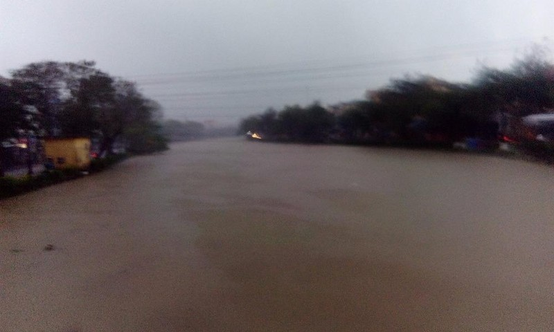 Nước tại các sông ở Thừa Thiên – Huế lên nhanh
