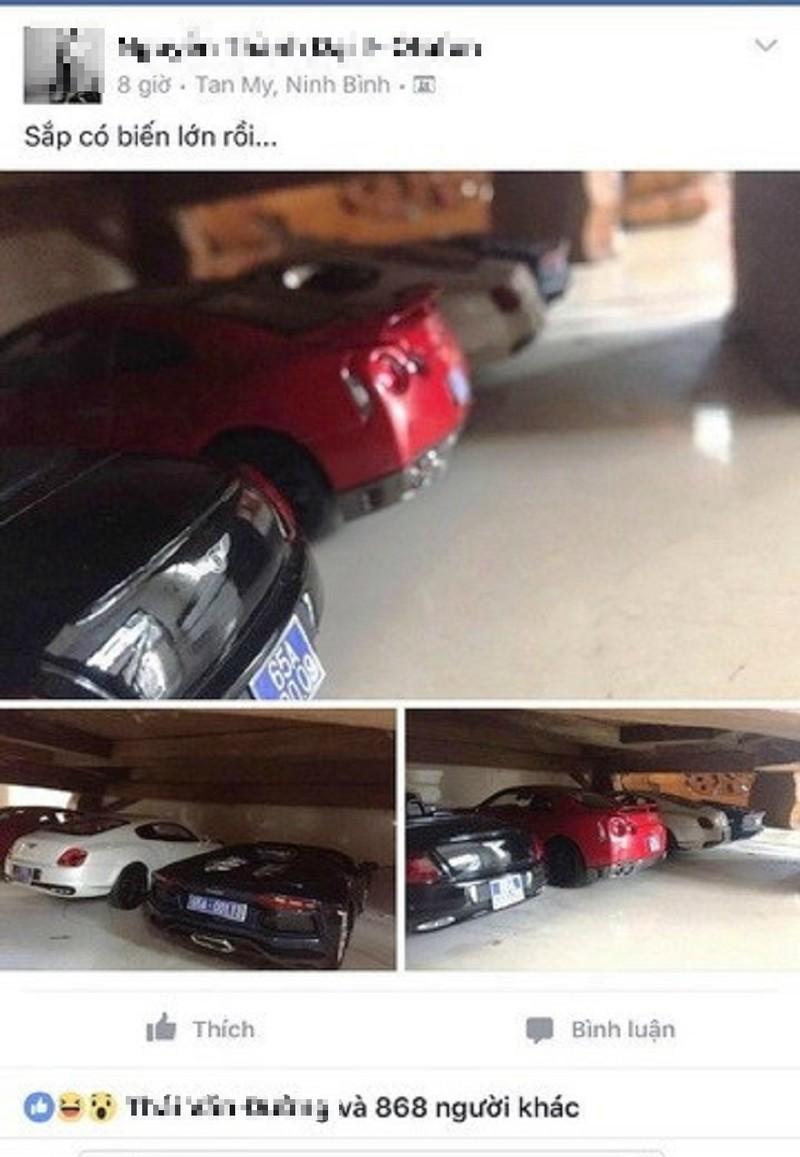 Người đăng ảnh 'siêu xe gắn biển xanh' có bị phạt? - ảnh 1