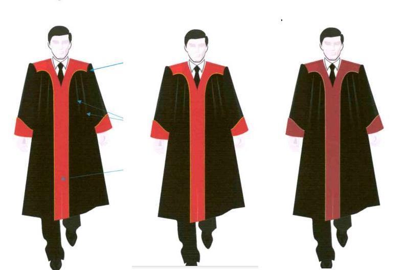 áo choàng xét xử của Thẩm phán TAND