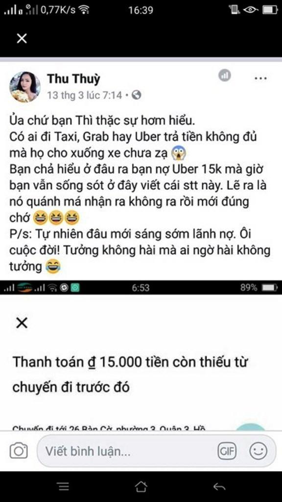 Không đi Uber cũng bị nợ 15 ngàn đồng - ảnh 4