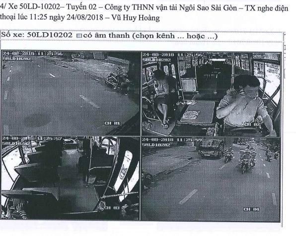 Nhờ camera, phát hiện tài xế xe bus hút thuốc, nghe điện thoại - ảnh 1
