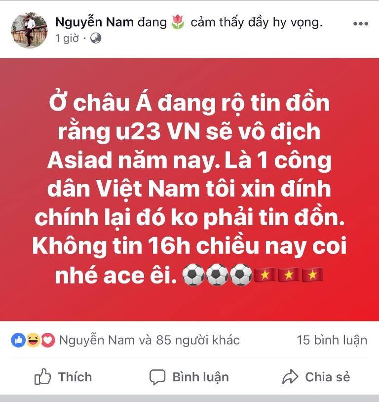 Người hâm mộ nghĩ đủ kiểu cổ vũ Olympic Việt Nam - ảnh 9