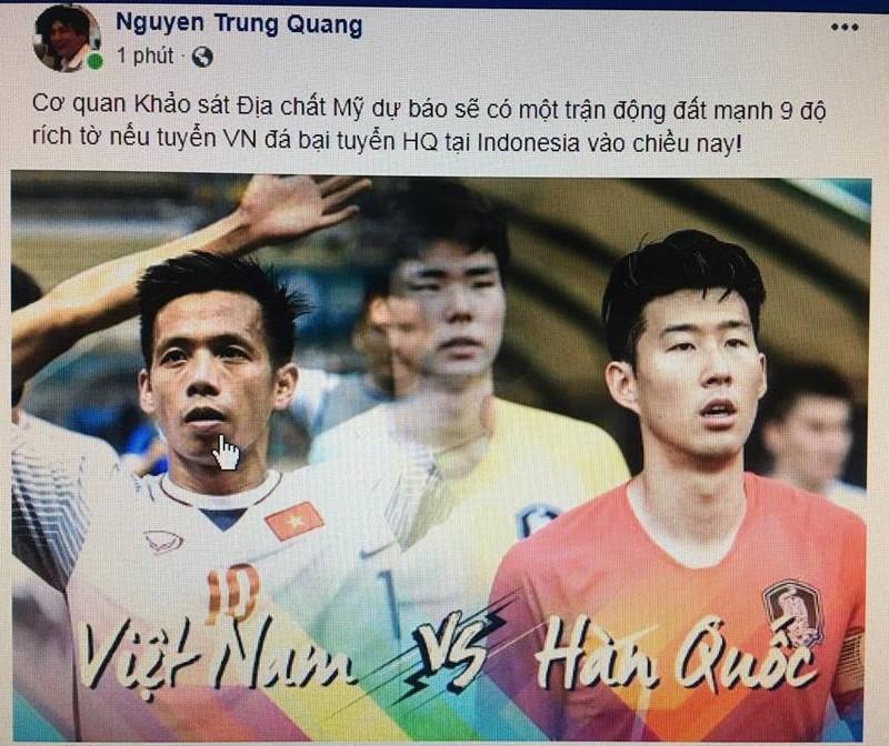 Người hâm mộ nghĩ đủ kiểu cổ vũ Olympic Việt Nam - ảnh 4