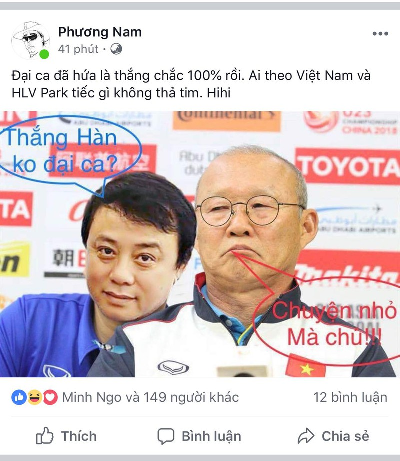 Người hâm mộ nghĩ đủ kiểu cổ vũ Olympic Việt Nam - ảnh 5
