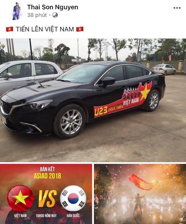 Người hâm mộ nghĩ đủ kiểu cổ vũ Olympic Việt Nam - ảnh 8