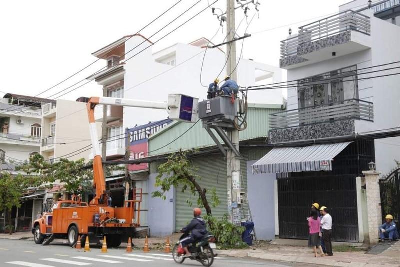 TP.HCM: Vẫn còn 2.000 hộ dân bị cúp điện - ảnh 1