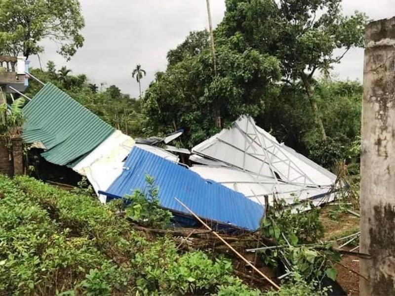 Thái Nguyên tan hoang vì giông lốc, mưa đá - ảnh 4