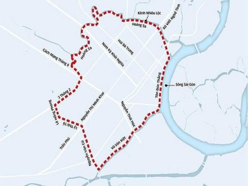 Đề xuất xây dựng 34 trạm thu phí ô tô vào trung tâm TP.HCM - ảnh 1