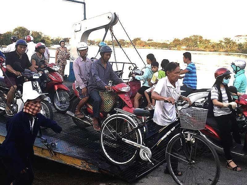 Xây dựng cầu sắt thay thế phà An Phú Đông - ảnh 1