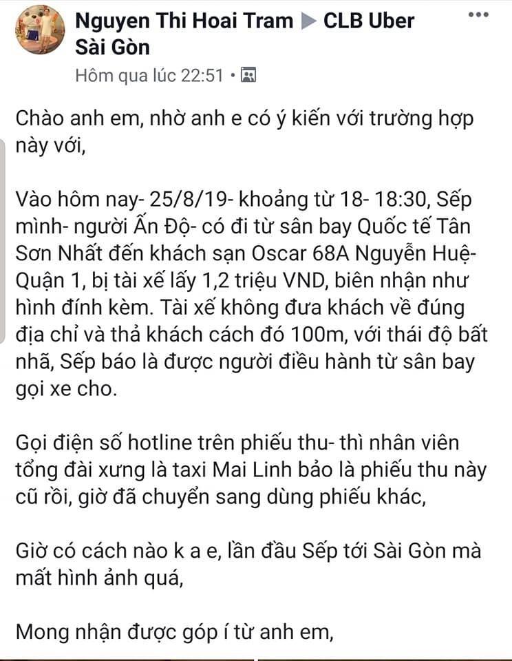 Giả Mai Linh chặt chém 1,2 triệu cho 8 km - ảnh 2