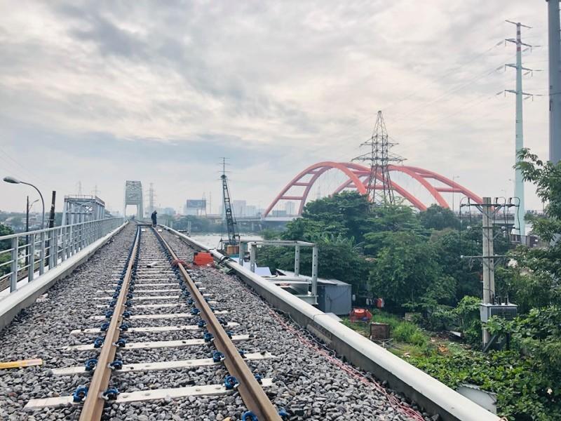 Chính thức thông cầu đường sắt Bình Lợi mới - ảnh 2