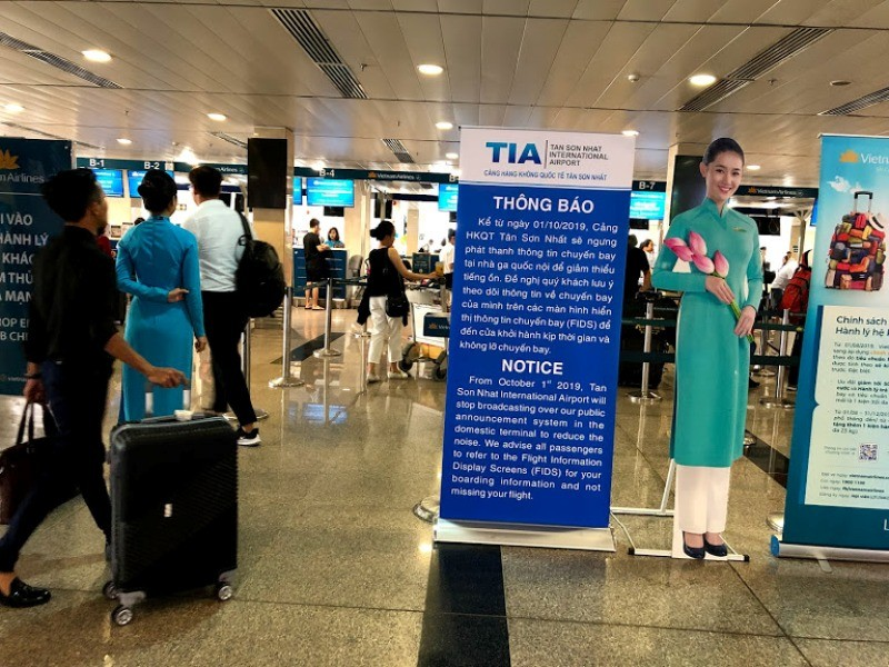 Sân bay Tân Sơn Nhất ra sao khi không có loa thông báo? - ảnh 4