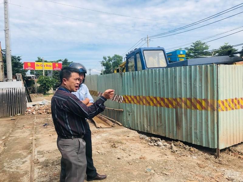 Lại một dự án giao thông bị xử phạt vì thiếu an toàn - ảnh 2