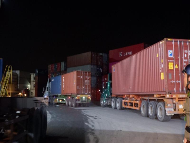Sở GTVT TP.HCM phản hồi về việc container không gài chốt - ảnh 1