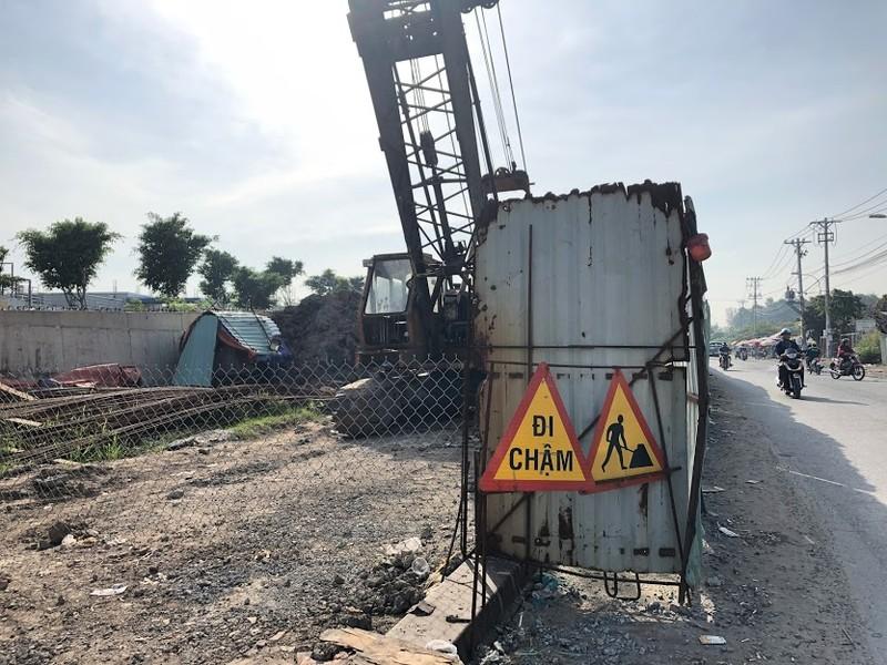 Cầu Tăng Long có nguy cơ chậm tiến độ - ảnh 7