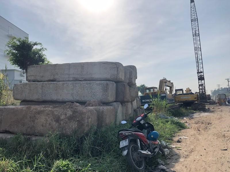 Cầu Tăng Long có nguy cơ chậm tiến độ - ảnh 8