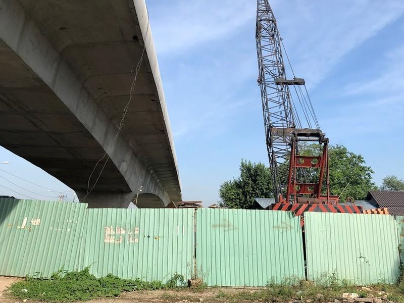 Cầu Tăng Long có nguy cơ chậm tiến độ - ảnh 2