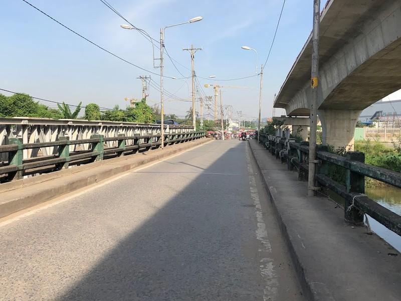 Cầu Tăng Long có nguy cơ chậm tiến độ - ảnh 3