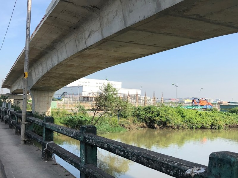 Cầu Tăng Long có nguy cơ chậm tiến độ - ảnh 4