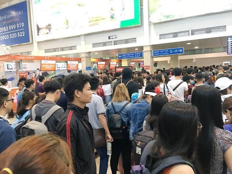 Điện lực nói gì về sự cố mất điện ở sân bay Tân Sơn Nhất  - ảnh 1