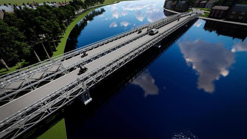 Cầu sắt An Phú Đông được mong chờ hoàn thành trong năm mới - ảnh 5
