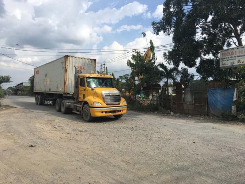 Quận 9: Cấm xe tải trên 5 tấn lưu thông vào đường số 13 - ảnh 1