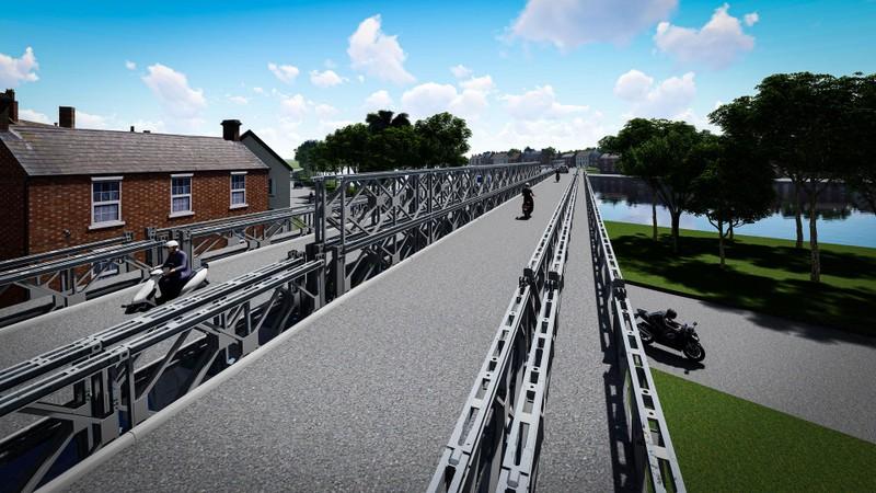 Chính thức khởi công cầu sắt An Phú Đông - ảnh 1
