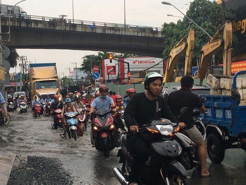 Sắp thi công đường Huỳnh Tấn Phát, Nhà Bè - ảnh 1
