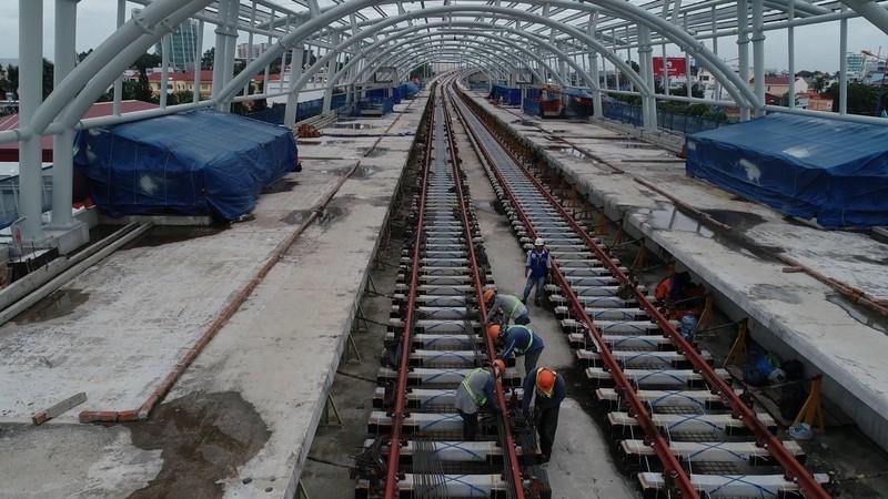Tháng 4, tàu metro sẽ được nhập về TP.HCM - ảnh 1