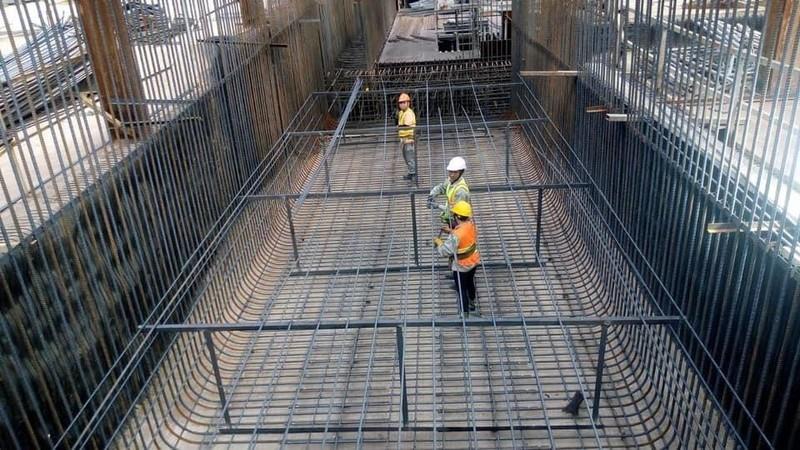 Tiếp tục tăng tốc gói thầu ga Bến Thành của tuyến metro số 1 - ảnh 1