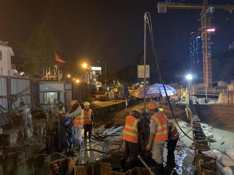 Tiếp tục tăng tốc gói thầu ga Bến Thành của tuyến metro số 1 - ảnh 3