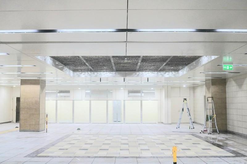 Metro 1: Tầng B1 ga Nhà hát TP đã hoàn thiện cơ bản - ảnh 6