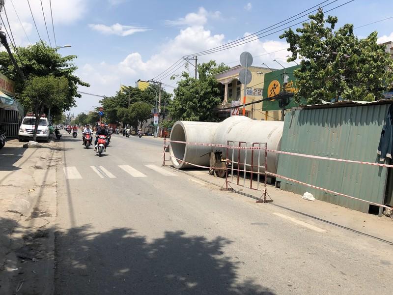 Bắt đầu thi công đường Huỳnh Tấn Phát - ảnh 5