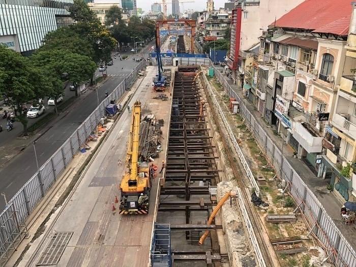 Năm 2021, metro 1 hoàn trả mặt bằng đường Lê Lợi - ảnh 1