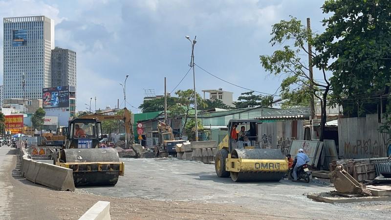 Dự án nâng cấp đường Nguyễn Hữu Cảnh sắp hoàn thành - ảnh 2
