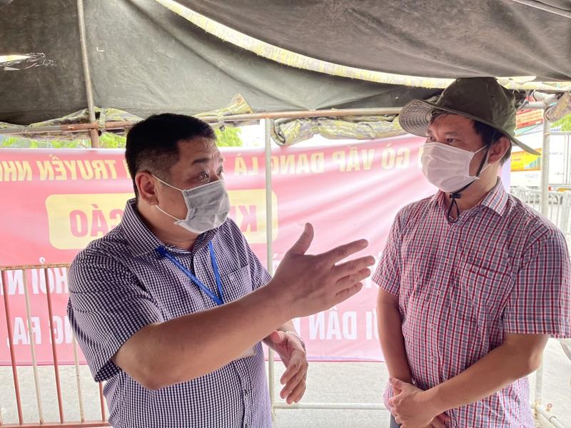 Lãnh đạo Sở GTVT thị sát các chốt chống dịch ở quận Gò Vấp, TP.HCM - ảnh 3