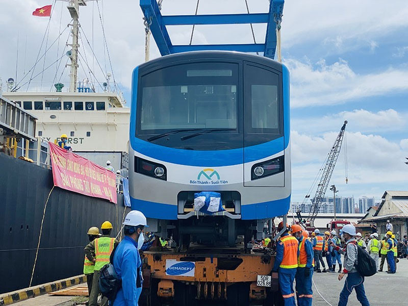 Một tuần nữa tàu metro số 1 sẽ tiếp tục về đến Việt Nam - ảnh 1