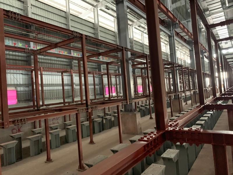 Metro số 1: Xưởng chính tại Depot Long Bình sắp hoàn thành - ảnh 3