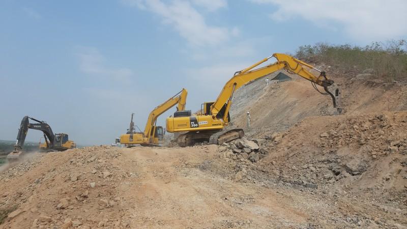 Cận cảnh dự án cao tốc Vĩnh Hảo - Phan Thiết những ngày tháng 6 - ảnh 3