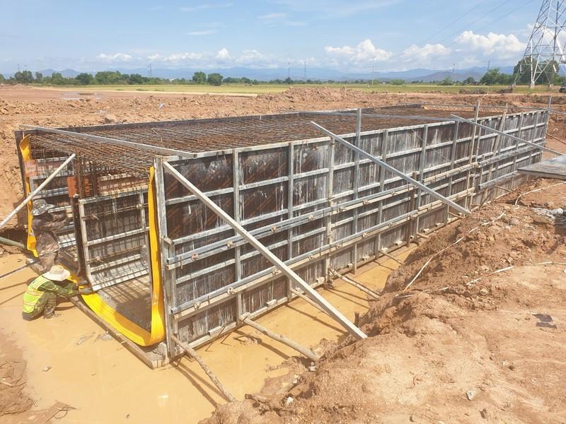 Cận cảnh dự án cao tốc Vĩnh Hảo - Phan Thiết những ngày tháng 6 - ảnh 6