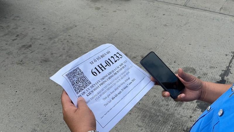 TP.HCM kiểm tra các phương tiện có giấy nhận diện  - ảnh 3