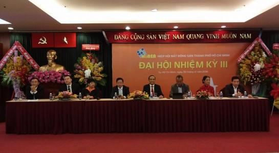 Ông Lê Hoàng Châu tiếp tục làm Chủ tịch HoREA - ảnh 1