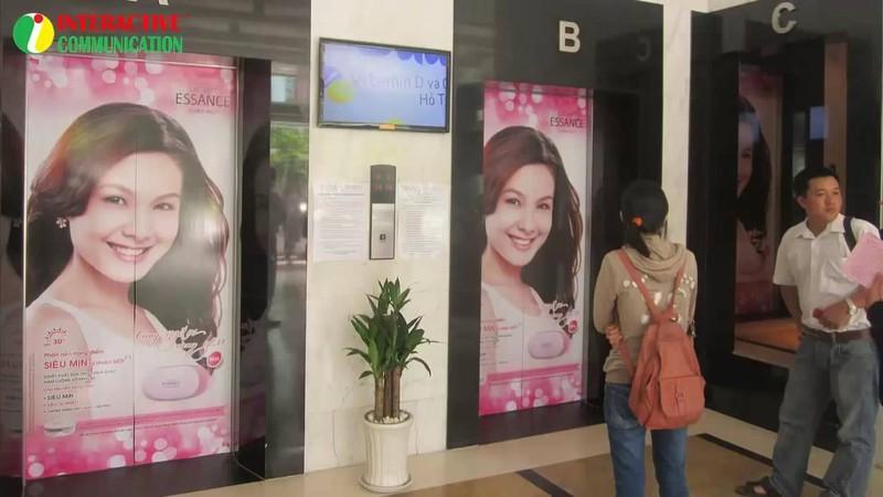 Có được phép quảng cáo trong thang máy không? - ảnh 1