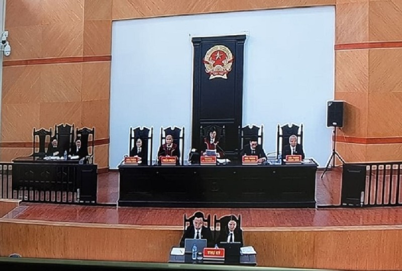 Đang tuyên án ông Nguyễn Bắc Son cùng đồng phạm - ảnh 1
