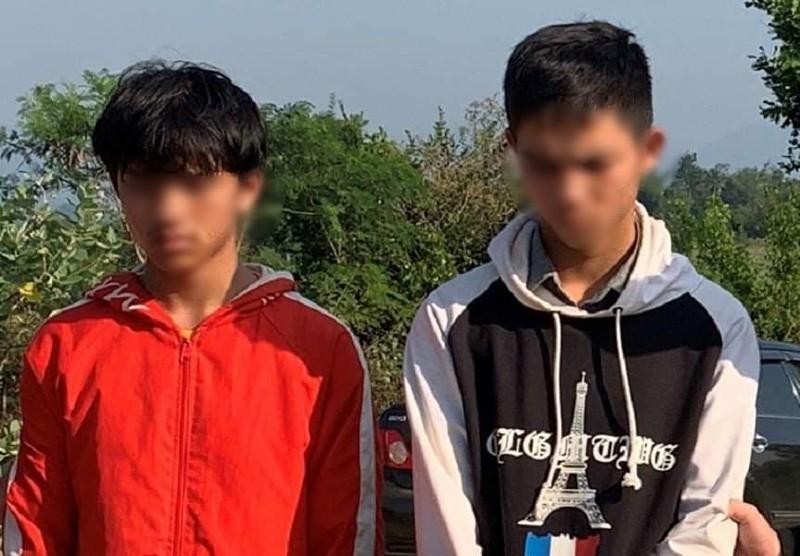 Đôi bạn thiếu niên dùng dao cướp taxi giữa ban ngày - ảnh 1