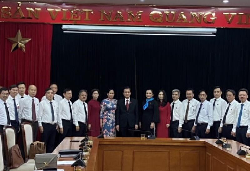 Ông Lê Hồng Quang được bầu làm Bí thư Đảng bộ TAND Tối cao - ảnh 1