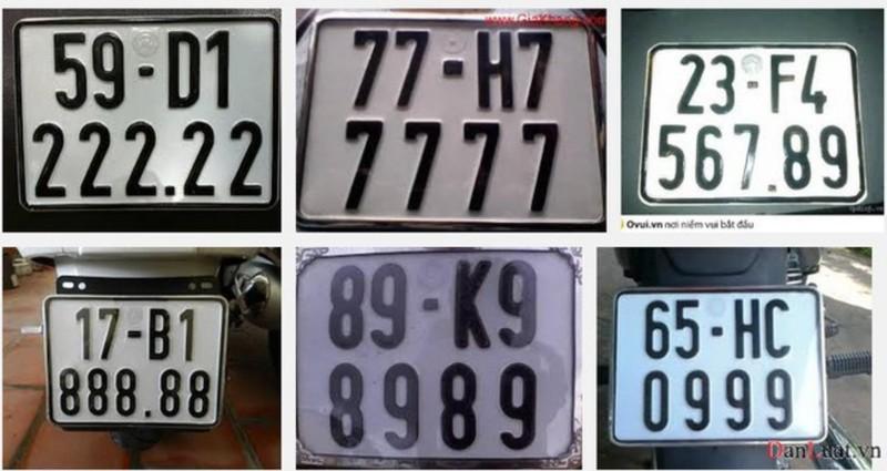 Từ chuyện 1 biển số xe ô tô được bán 4 tỉ - ảnh 1