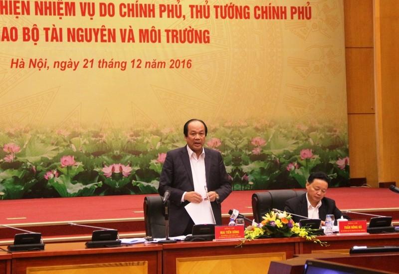 Thủ tướng yêu cầu Bộ TN&MT giải trình, làm rõ 7 vấn đề - ảnh 1