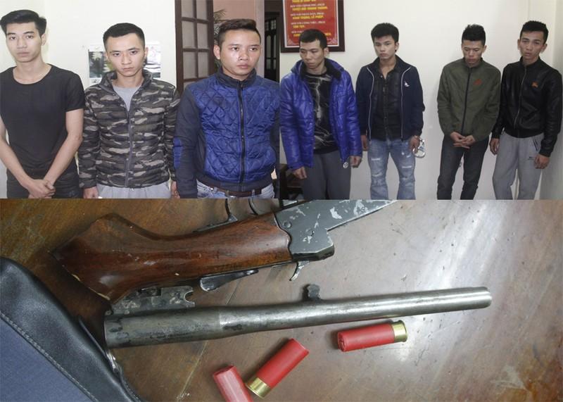Nghi can nổ súng bắn chết người ở Thanh Hóa ra đầu thú - ảnh 1